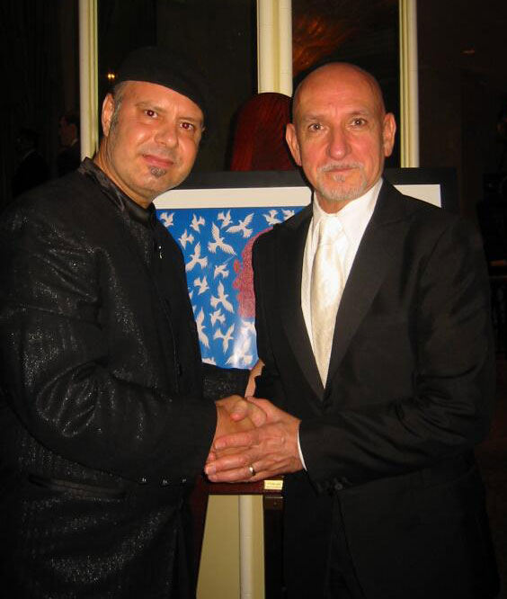 Sir Ben Kingsley and Metin Bereketli